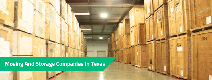 Moving And Storage Companies In Texas