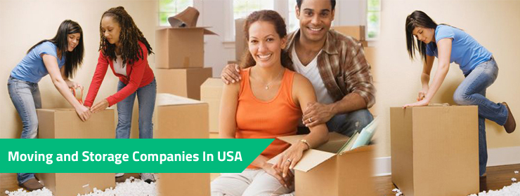 Moving and Storage Companies In USA